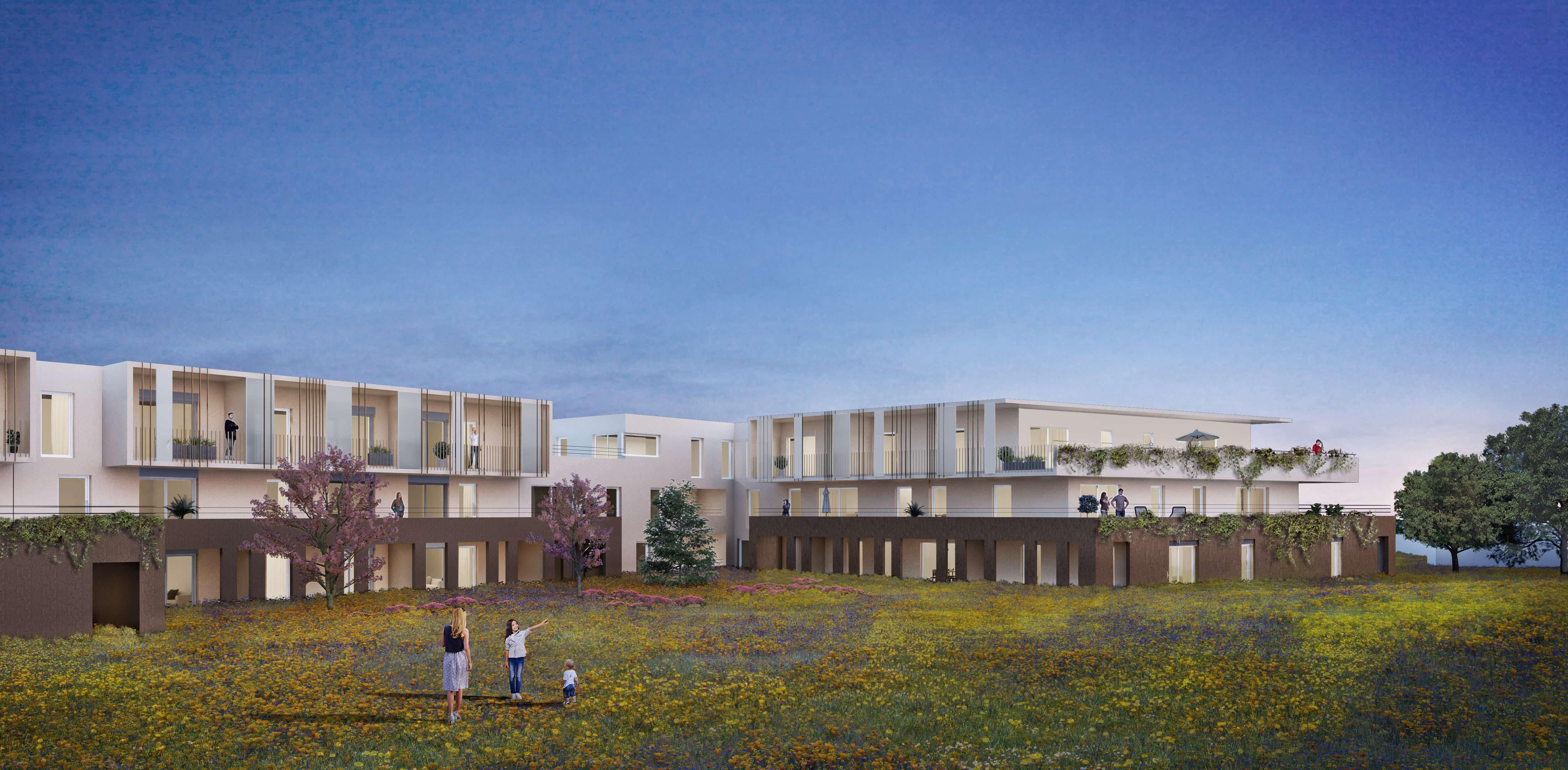 illustration 3D architecturale residentielle