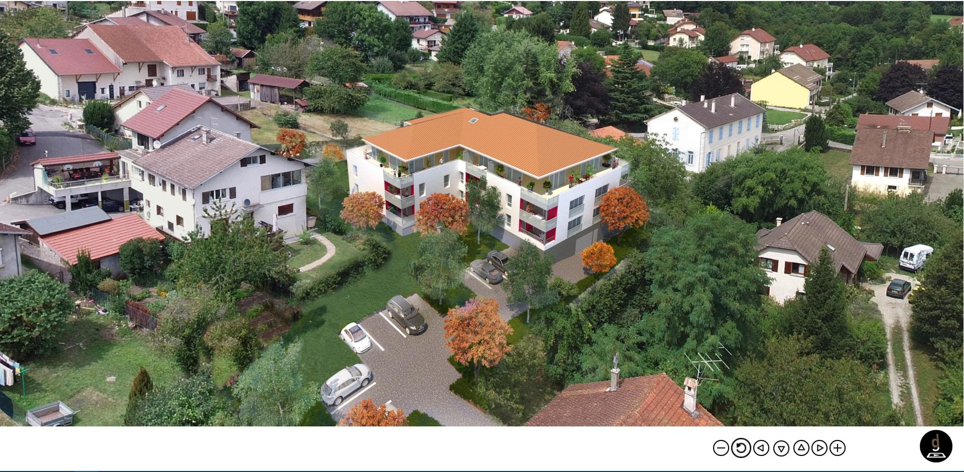 visualisation aérienne panoramique 360