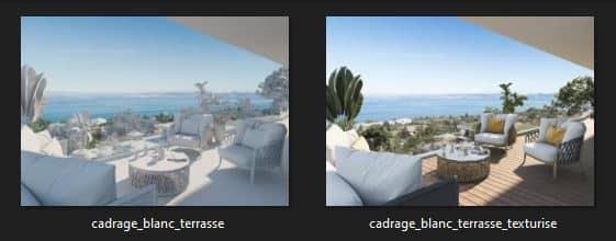 Avant_Après_rendu 3d architecture_Terrasse