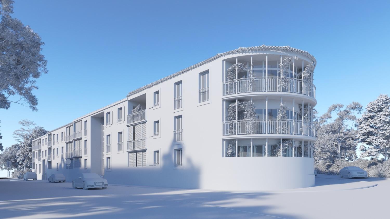 Blanc 3d architecture