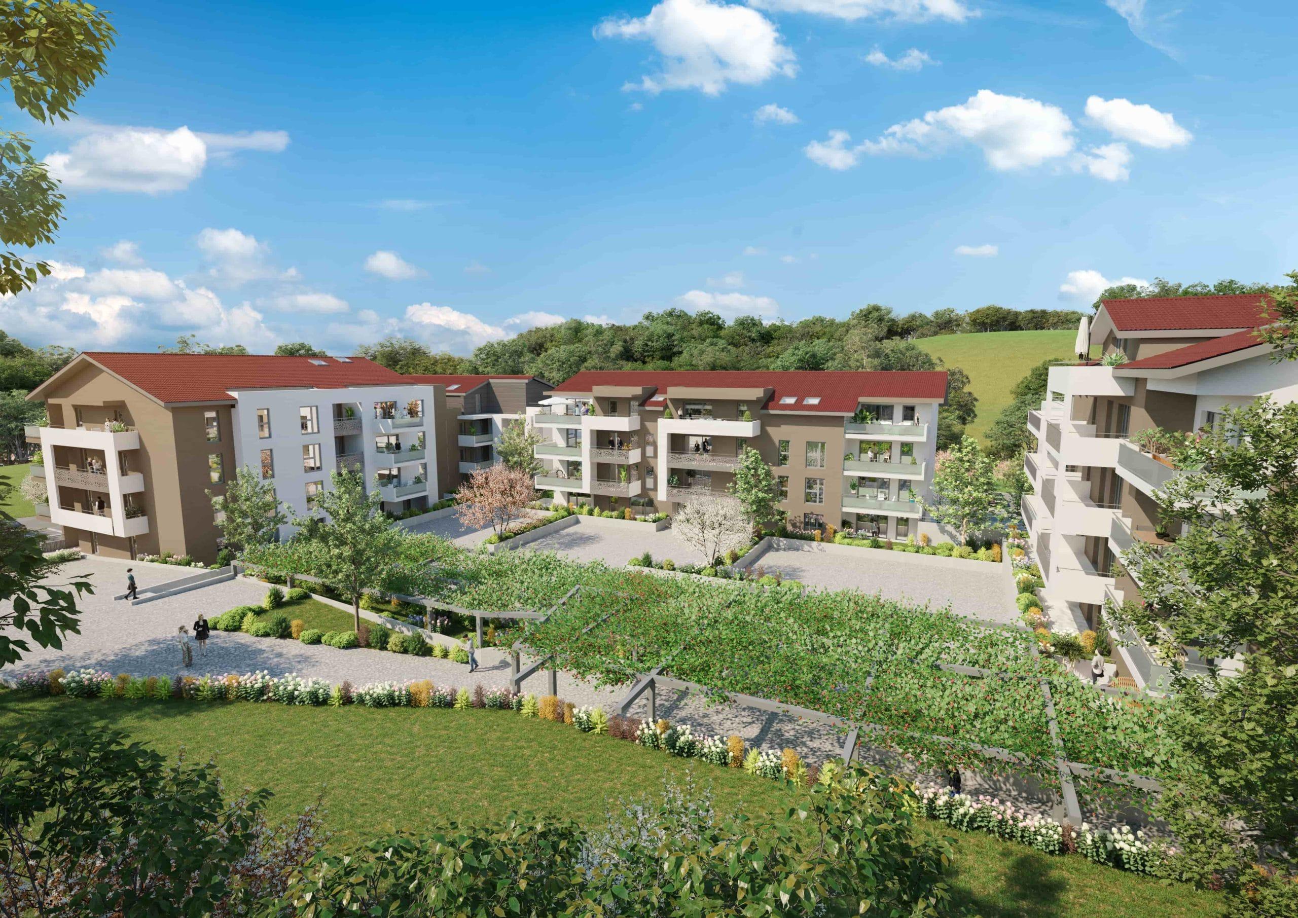 Rendu 3d_blanc_residentiel_architecture